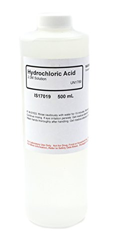 Hydrochloric Acid Solution, 2M, 500mL - The Curated Chemical Collection