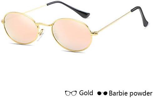 ZJIEJ Lunettes de Soleil Woman's Fashion Sunglasses Sun Glasses Sunglasses Metal Round Frames Black Sunglasses Eyewear