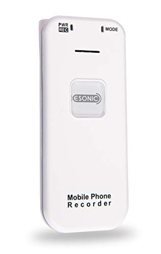 SpyCentre Security Mini Cell Phone Call Audio Recorder - Noise- and Voice-Activated - 144 Hours Sound Storage (Best Voice Recording Mobile Phone)