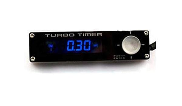 1 Duokon 12V Car Universal LED Digital Display Turbo Timer Turbine Protection Device Time Retarder