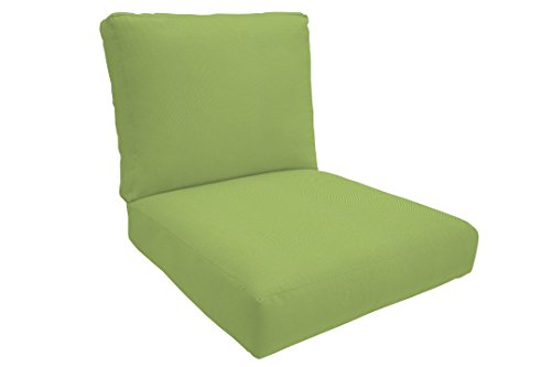 Eddie Bauer Home 11564U-F54011 Deep Seating Lounge Knife Edge Large, Canvas Ginkgo (Replacements Outdoor Furniture Cushion)
