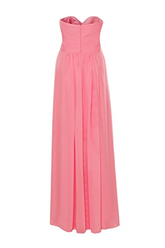 Pleated Cross s Women Cosya Prom Sweetheart Watermelon Dress Criss qZPStw