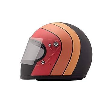 Amazon.es: DMD 1 ffs20000fu03 Casco Moto, Fuego, talla M