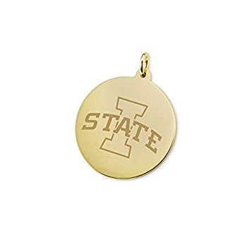 Image of Charms M. LA HART Iowa State University 18K Gold Charm