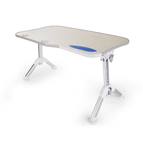 Price comparison product image Folding Laptop Table (Large Size),  GVDV Laptop Bed Tray & Reading Table,  Adjustable Recliner Table,  Portable Standing Desk,  Folding Picnic Tray Table,  Tablet Stand for Sofa Couch Floor