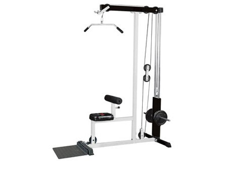 York Home Fitness Lat Machine by Ironcompany.com