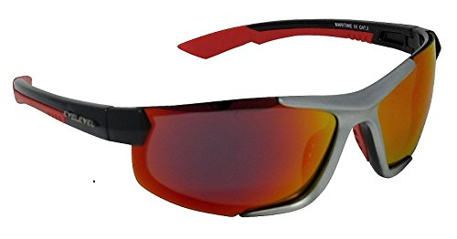 Eyelevel Gafas de sol polarizadas con espejo rojo Cat-3 ...