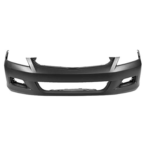 MBI AUTO - Painted to Match, Front Bumper Cover for 2006 2007 Honda Accord Sedan, -