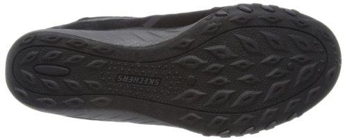 Skechers Breathe-Easy - Zapatillas de material sintético mujer negro - Schwarz (BKSL)