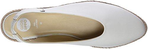 Blanco Cordones White Zapatillas Mujer Gioseppo sin para 45274 qTZawZ
