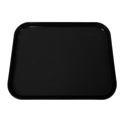 (Cambro Manufacturing PT1418110 Polytread Tray Rectangular Black 14'' x 18'' (1 Each))