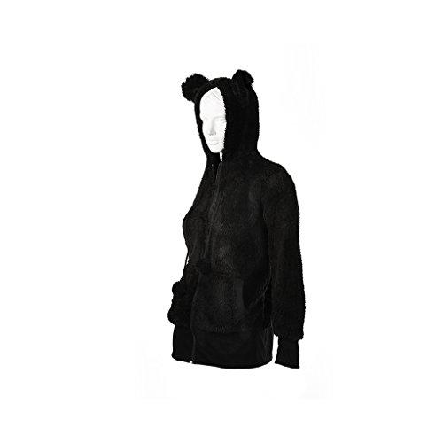 Rock Daddy - Sudadera con capucha - para mujer negro