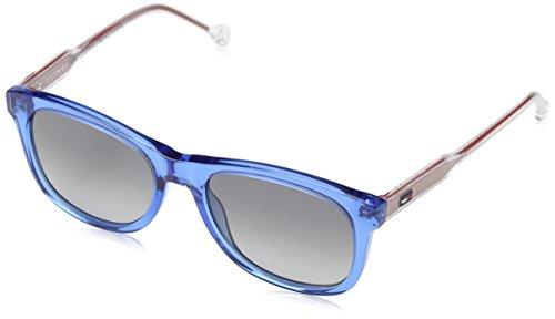 Unisex Gafas 1501 de 49 Sol Azure 9O Adulto TH Hilfiger Tommy S nfgX68fO
