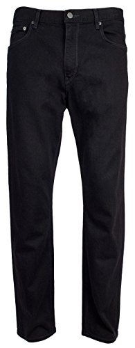 (Michael Kors Men's Tailored Black Jeans 32x32)
