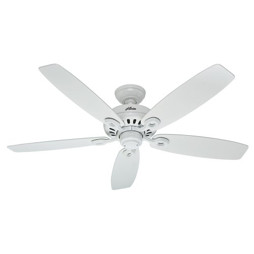 hunter-fan-company-54108-markham-52-inch-snow-white-ceiling-fan-with-five-snow-white-blades