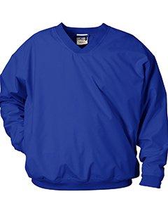 Badger Sport Microfiber Windshirt, Royal, Large