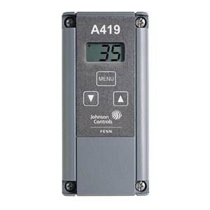 johnson controls a419abc 1c electronic temp controller hvac johnson controls a419abc 1c electronic temp controller
