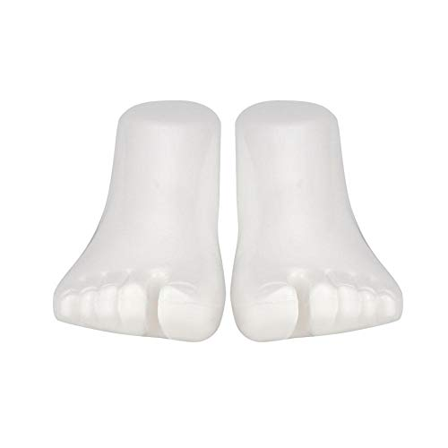 Flameer Left Foot Display Mould Mannequin Feet Model for Unisex Shoes Socks Ankle Chain Show 20cm Height