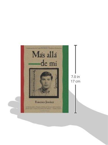 Amazon.com: Mas alla de mi Reaching Out Spanish Edition (9780547250311): Francisco Jiménez: Books