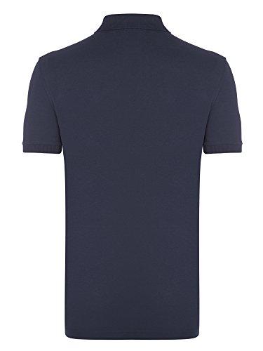 BOSS Herren Poloshirt Indigo Blau Navy Polo Shirt