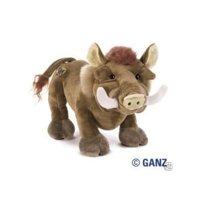 Webkinz Warthog + Webkinz Bookmark - New with Sealed Tag and Unused Code: Toys & Games