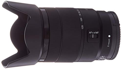 Sony 18-135mm F3.5-5.6 OSS APS-C E-Mount Zoom Lens (Certified Refurbished)