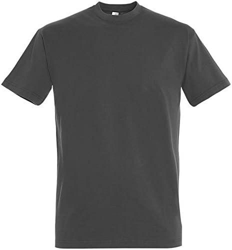 SOLS - Camiseta de manga corta para hombre 100% algodón grueso ...