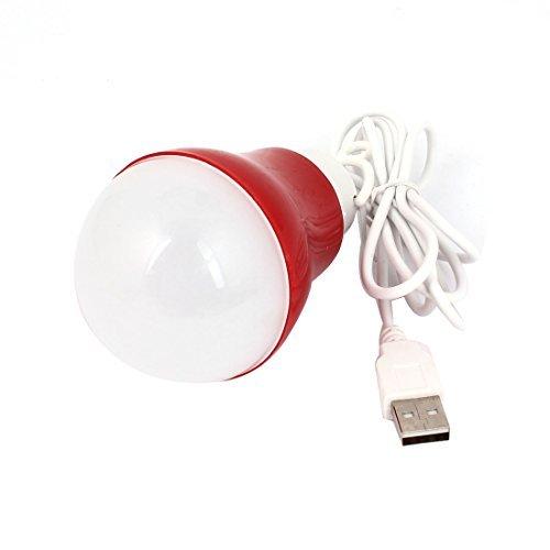 eDealMax DC 3-12 5W LED Blanche USB Globe ampoule Pour téléphone Portable Computer Power Bank
