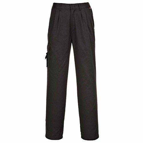 Damen Kampfhose Portwest C099 schwarz oder Marinebalu - Größen 6 - 26 Schwarz