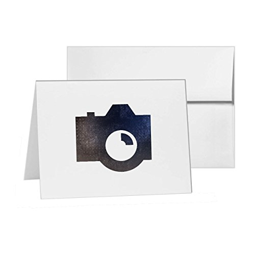 (Camera Photography, Blank Card Invitation Pack, 15 cards at 4x6, with White Envelopes, Item 852784)