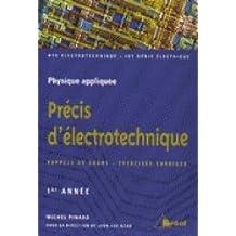 Precis d'electrotechnique première annee: rappels cours