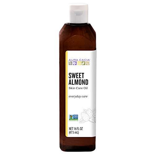 (Aura Cacia - Pure Sweet Almond Oil | Non-GMO Project Verified | 16 fl. oz.)