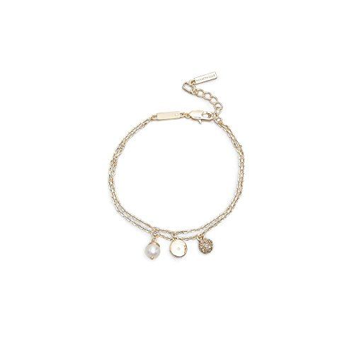 Kenneth Cole Ladies Bracelet - Kenneth Cole New York Women's Charm Anklet, Crystal, One Size