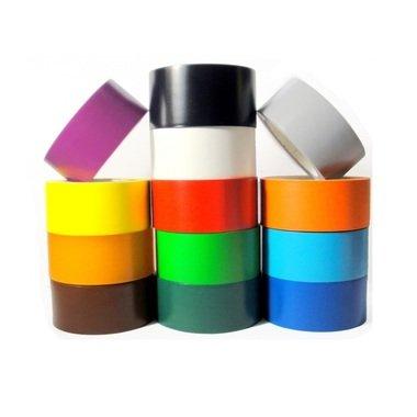Colored Vinyl Tape (65013) (White, Case, 5 Mil , 60 yds, 4''(96mm))