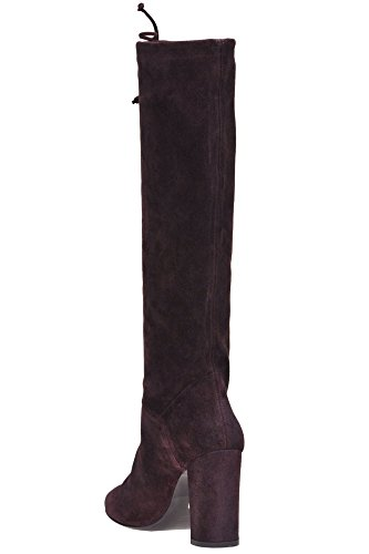 Strategia Women's MCGLCAS04180I Burgundy Suede Boots buy cheap new styles c791NlBshJ