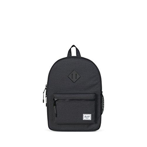 Herschel Kids' Heritage Youth Backpack, BLACK/BLK, One Size