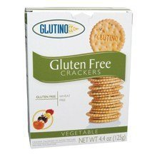 Glutino Vegetable Crackers ( 6x 4.4 oz)