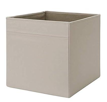 IKEA Drona Caja, Gris, 10 unidades