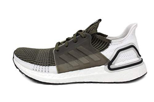 adidas Men's Ultraboost 19 Running Shoe, raw Khaki/Black, 9 M US