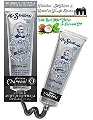 Dr. Sheffield Certified All Natural Toothpaste - ACTIVATED CHARCOAL - 5 OZ