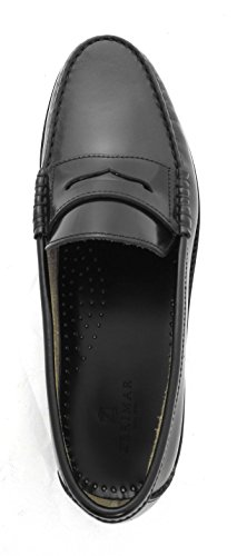 Zerimar Zapato fabricado en piel de alta calidad y piso de cuero PRECIOS DE REBAJAS - AHORA 0 NUNCA Ideales para vestir y ejecutivosColor negro negro