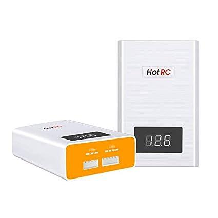Etrogo RC Lipo Cargador,A400 3000mA 40W Cargador de Equilibrio de 3S 4S Bateria con Pantalla Digital LED para Batería 11.1V/14.8V