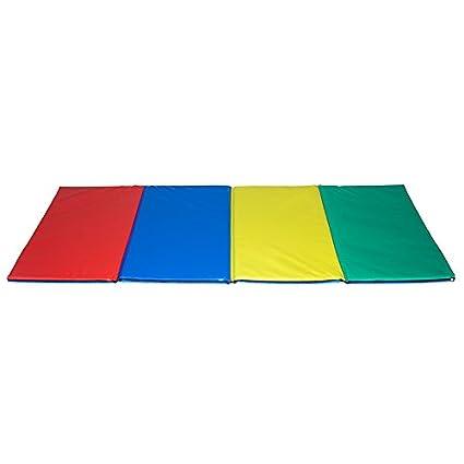 kidunivers - Alfombra de gimnasia coloré plegable en cuatro ...