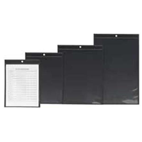 Shop Ticket Holder, 11''x17'', Clear Front/Black Back ESS64117