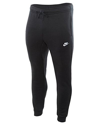 Nike Mens Sportswear Jogger Pants Black/White Large