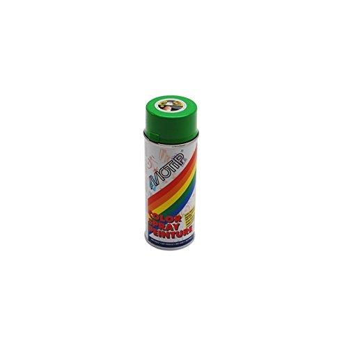 MOTIP - BOMBE DE PEINTURE MOTIP GLYCERO BRILLANT VERT POMME (DERBI) spray 400ml (01607)