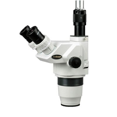 AmScope ZM6745T 6.7X-45X Ultimate Trinocular Stereo Zoom Microscope Head