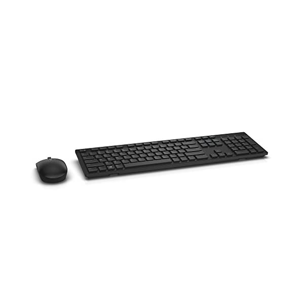 Dell KM636 Wireless Keyboard & Mouse Combo (5WH32), Black