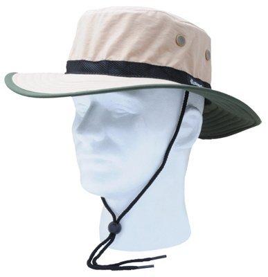 Sloggers 446TN Tan & Dark Green Nylon Sun Hat