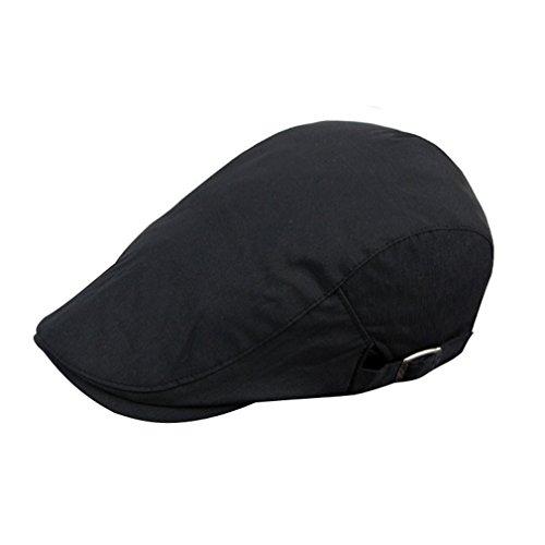 Cappello donna colori cotone piatta nero per adulto per unica misto taglia visiera viaggio regolabile 4 uomo Acvip Cappello xg7FAwwt